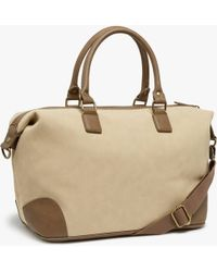John Lewis - Geneva Small Weekend Holdall - Lyst