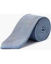 CALVIN KLEIN 205W39NYC - Silk Linen Tie - Lyst