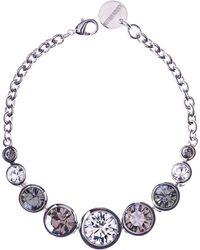 Karen Millen | Swarovski Teardrop Bracelet | Lyst