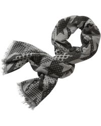 Betty & Co. - Long Graphic Weave Scarf - Lyst