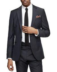 Reiss - Bishop Wool Mohair Slim Fit Suit - Lyst