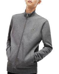 Lacoste - Classic Zip Through Sweatshirt - Lyst