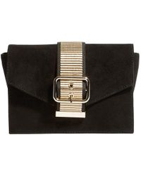 Karen Millen - Buckle Envelope Clutch Bag - Lyst