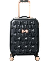 8e3fa9e08b39f Ted Baker - Beau 54cm 4-wheel Cabin Suitcase - Lyst. Ted Baker - Bow Detail  Vanity Case ...