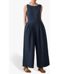 Toast - Cotton Linen Jumpsuit - Lyst
