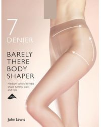 John Lewis - 7 Denier Barely There Shaper Tights - Lyst