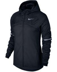Nike - Shield Hooded Women's Running Jacket - Lyst