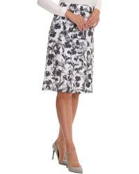 Betty Barclay - Printed Midi Skirt - Lyst