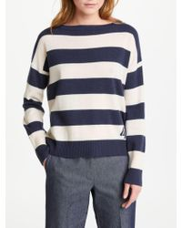 Marella - Meandro Stripe Jumper - Lyst