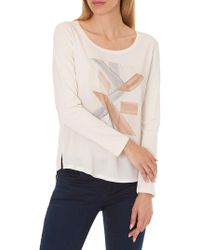 Betty & Co. - Oversized Top - Lyst