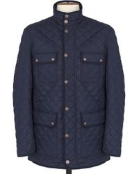 Thomas Pink - Harry Quilted Jacket - Lyst