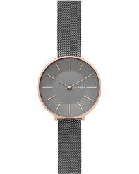 Skagen - Women's Karolina Mesh Bracelet Strap Watch - Lyst