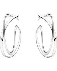 Georg Jensen - Infinity Drop Earrings - Lyst