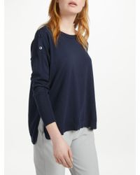 Marella - Button Shoulder Jumper - Lyst