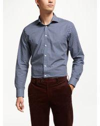 John Lewis - Italian Cotton Floral Shirt - Lyst