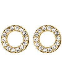 Dyrberg/Kern - Koro Brass Earrings - Lyst