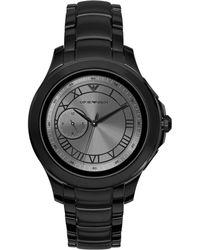 Emporio Armani - Connected Men's Bracelet Strap Touch Screen Smartwatch - Lyst