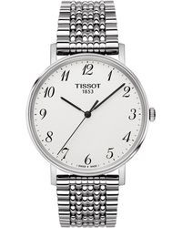 Tissot - T1094101103200 Men's T-classic Everytime Bracelet Strap - Lyst