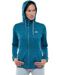 The North Face - Kutum Full Zip Fleece Women's Hoodie Jacket - Lyst
