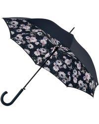 Fulton - Bloomsbury Mono Bouquet Walking Umbrella - Lyst