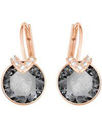 Swarovski - Bella V Crystal Drop Earrings - Lyst