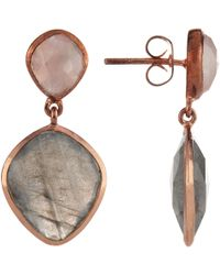 John Lewis - Semi-precious Stone Drop Earrings - Lyst