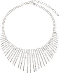 John Lewis | Cubic Zirconia Fan Necklace | Lyst