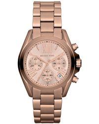Michael Kors - Mk5799 Women's Mini Bradshaw Stainless Steel Bracelet Strap Watch - Lyst