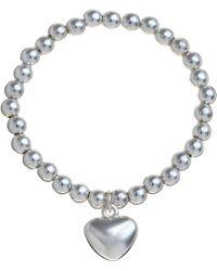 John Lewis   Georgie Bead Heart Bracelet   Lyst