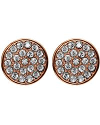 Dyrberg/Kern - Maira Crystal Stud Earrings - Lyst