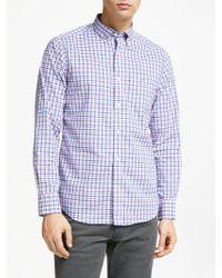 GANT - Broadcloth Gingham Shirt - Lyst