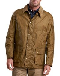Barbour - Lifestyle Waxed Cotton Lightweight Field Jacket - Lyst