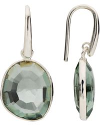 John Lewis - Semi-precious Stone Simple Drop Hook Earrings - Lyst