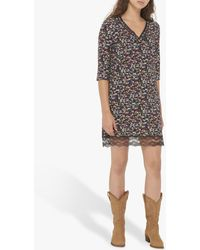 Gerard Darel - Augustin Floral Lace Dress - Lyst