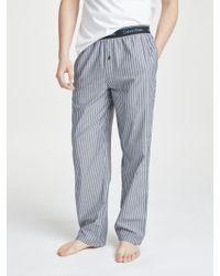 CALVIN KLEIN 205W39NYC - Skinny Stripe Lounge Trousers - Lyst