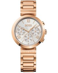 BOSS - 1502399 Women's Classic Chronograph Bracelet Strap Watch - Lyst