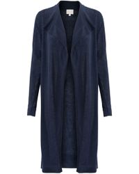 East - Drape Front Cardigan - Lyst