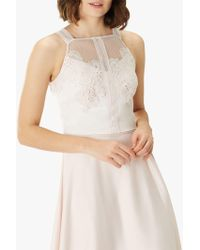 289453ed4694c4 Coast Manon Lace Top in Pink - Lyst