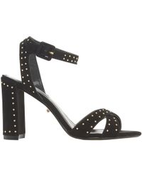 Dune - Marianna Studded Block Heel Sandals - Lyst