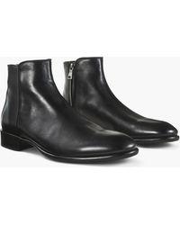John Varvatos - Eldridge Zip Boot - Lyst