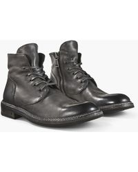 John Varvatos - Ellis Lace Boot - Lyst