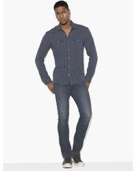 John Varvatos - Plaid Double-pocket Shirt - Lyst