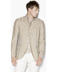 John Varvatos - Paneled Multi-button Jacket - Lyst