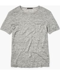 John Varvatos - The Linen Tee - Lyst