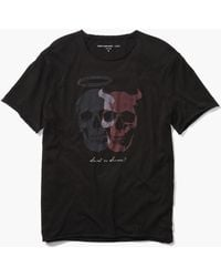 John Varvatos - Saint Or Sinner Tee - Lyst