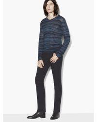 John Varvatos - Abstract Pattern Sweater - Lyst
