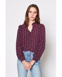 Joie - Mintee F (blackberry) Women's Clothing - Lyst