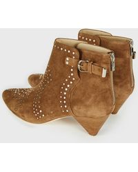 6af3b40960a6 Lyst - Joie Western Booties Jackson in Gray