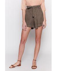 Joie - Daynna Linen Shorts - Lyst