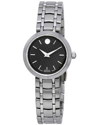 Movado - 1881 Automatic Black Dial Ladies Watch - Lyst